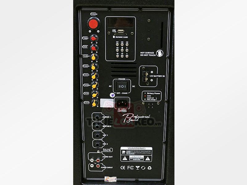 Loa kéo Prosing W215B slide 2